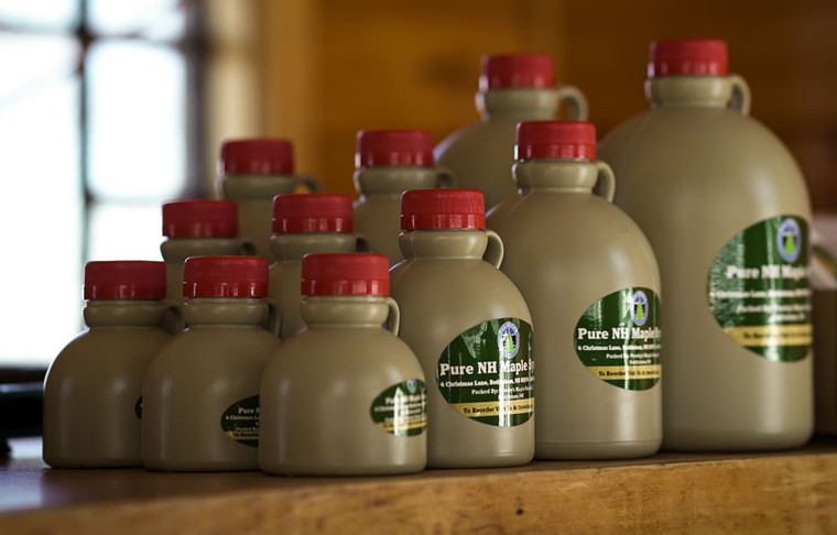 The Rocks Maple Syrup quart size