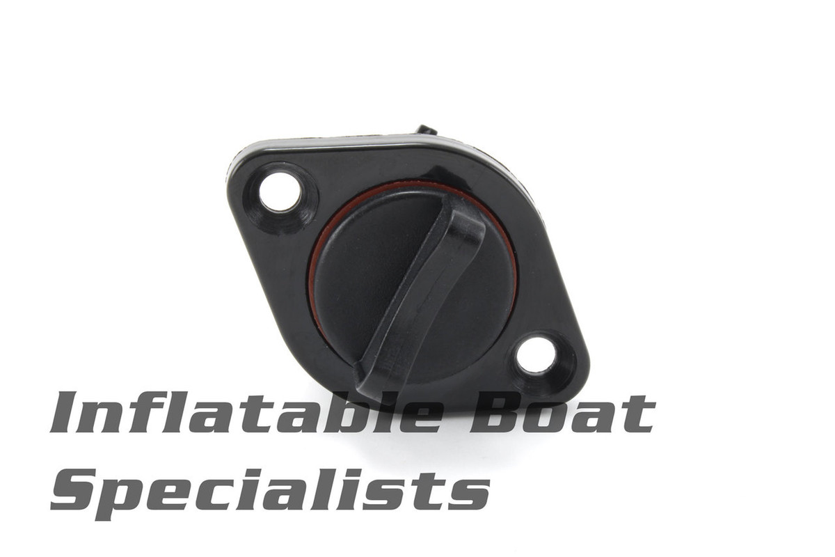 Achilles Inflatable Boat Parts | Plastic Transom Drain with Plug - C442