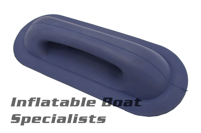 "Techno Rubber Handle 11"" Navy"