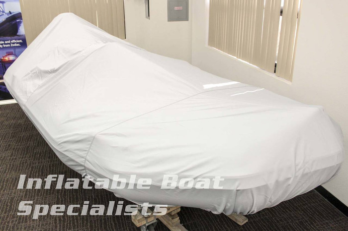 Inflatable Boat Cover | Center Console 11 Foot Grey