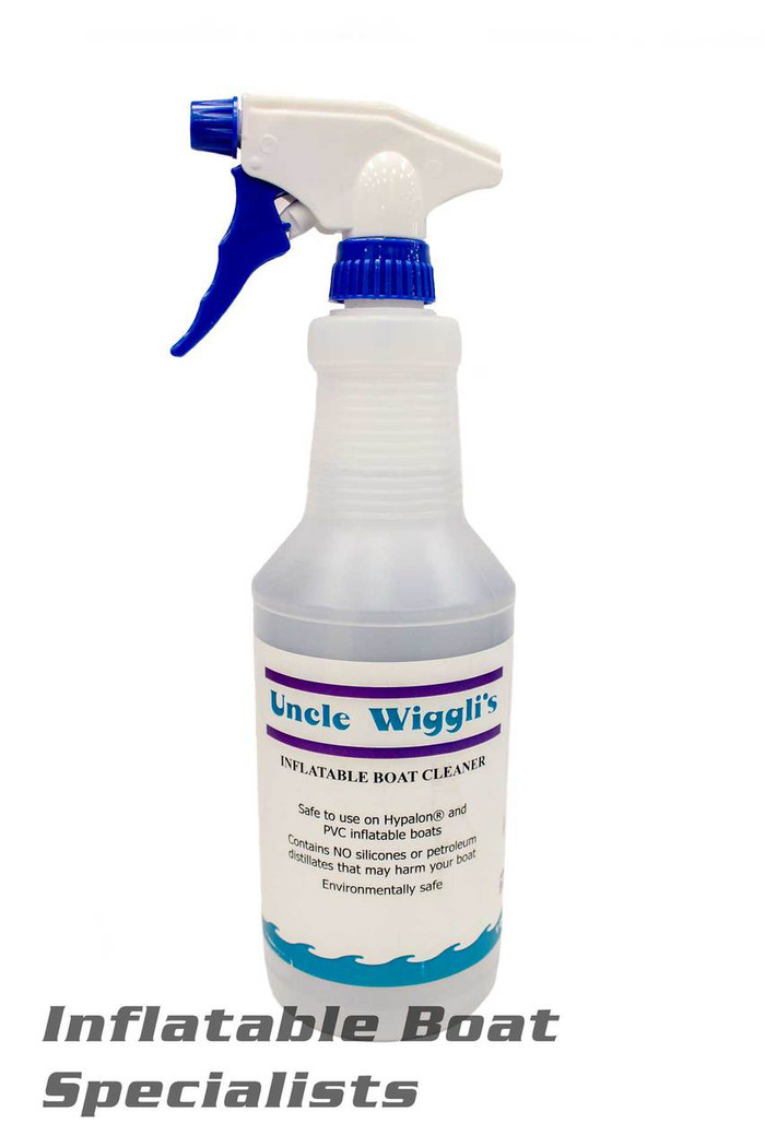 Uncle Wiggli's Inflatable Boat Cleaner