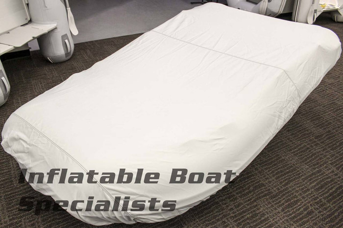 Inflatable Boat Cover | Blunt Nose 13 Foot Grey