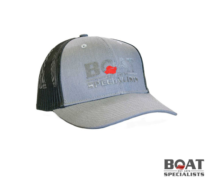 Trucker Hat - Gray & Black