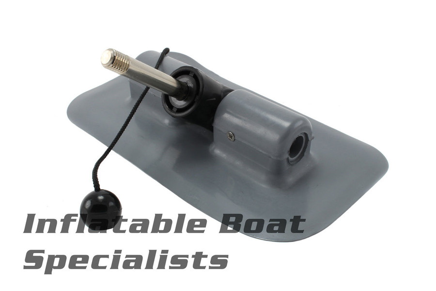 Achilles Inflatable Boat Parts | Oarlock Small Rounded-Type - DC4126GY