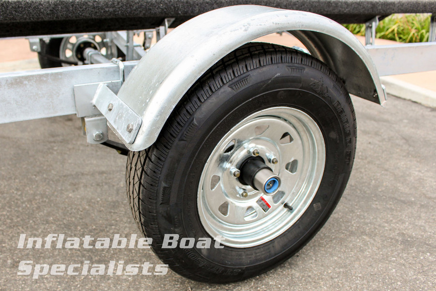 Pacific Galvanized G16-1500 2-Bunk Trailer