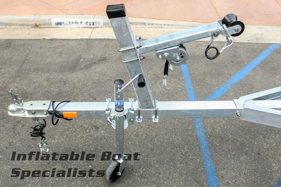 Pacific Galvanized G16-1500 2-Bunk Trailer