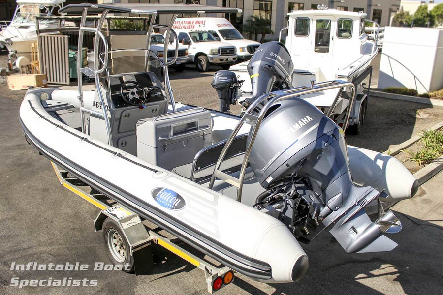 Pre-Owned Falcon 700 MK2 2015 with Yamaha F200 Four Stroke