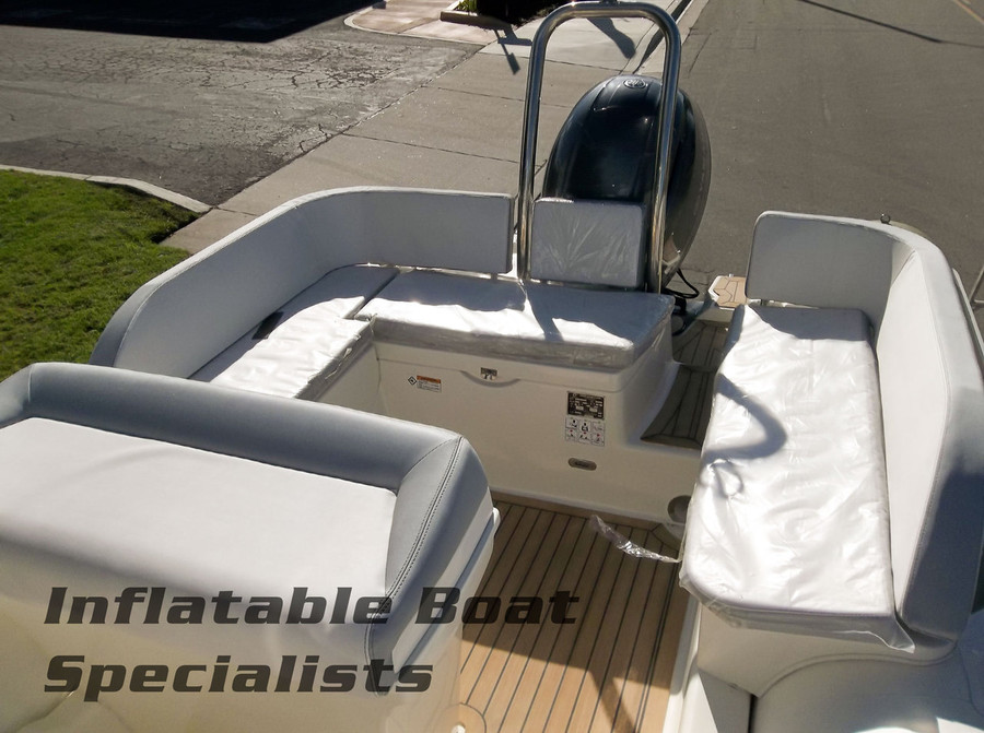 Please Note: Picture shows optional Bimini top and Synthetic Teak decking.