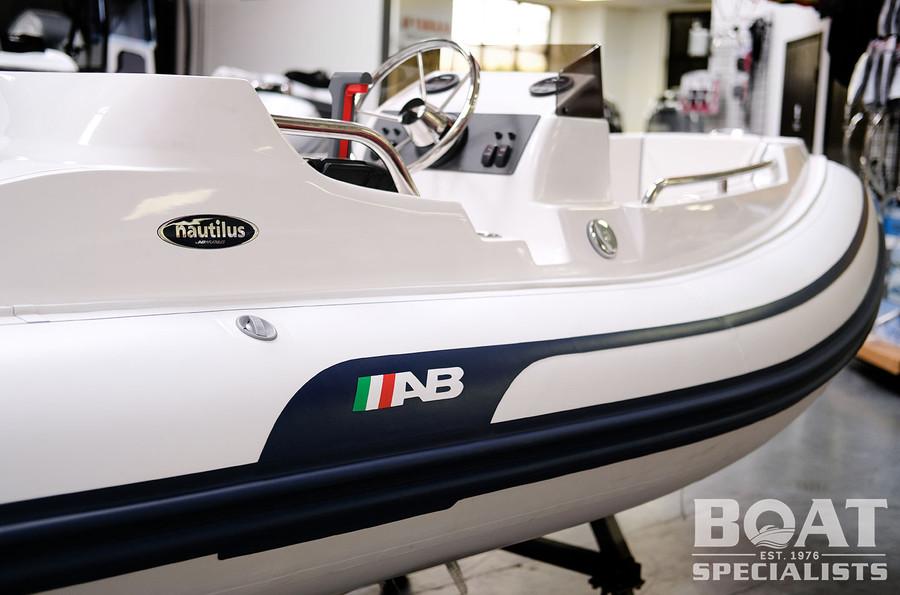 AB Nautilus Series | 13 DLX 2021 with Yamaha F50LB