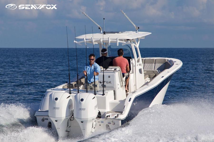 Sea Fox 288 Commander w/ twin Yamaha F300XCA's - FULLY LOADED