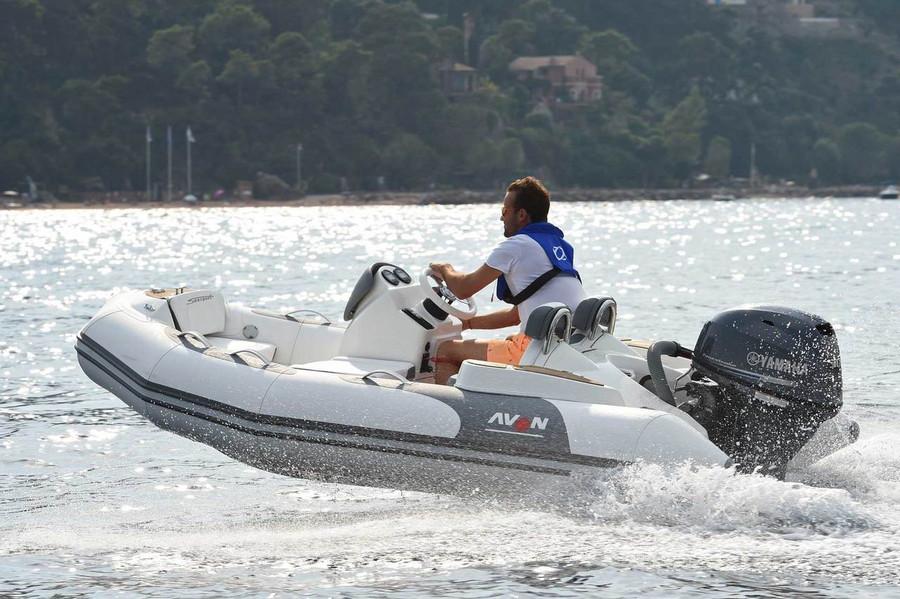 Avon Seasport Inflatable Boat   Camel Seasport 360 NEO 2022 with Yamaha Four Stroke