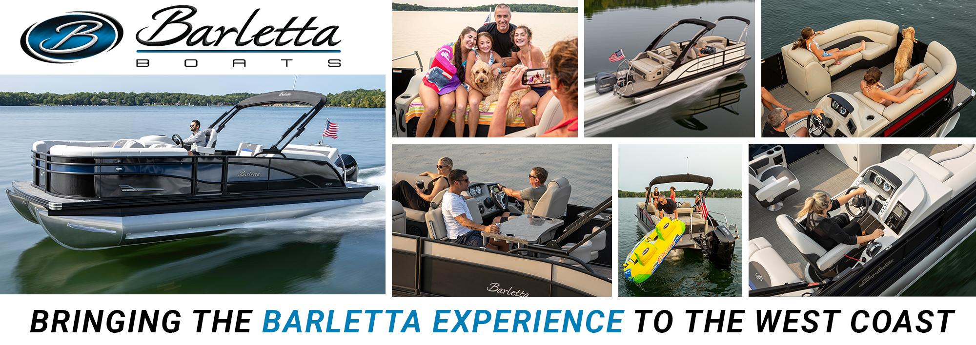Barletta Pontoon Boats now for sale on the west coast at Boat Specialists