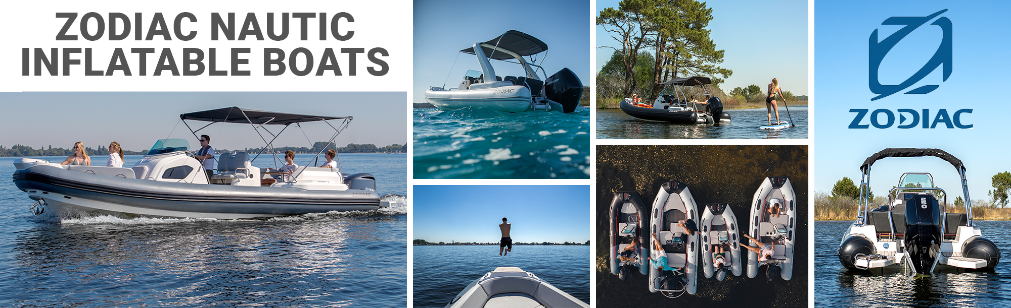 Zodiac Inflatable RIBs, dinghies, and center consoles for SALE at the Boat Specialists.