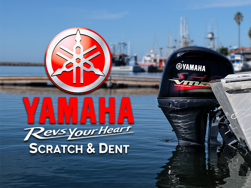 Yamaha Scratch & Dent Program