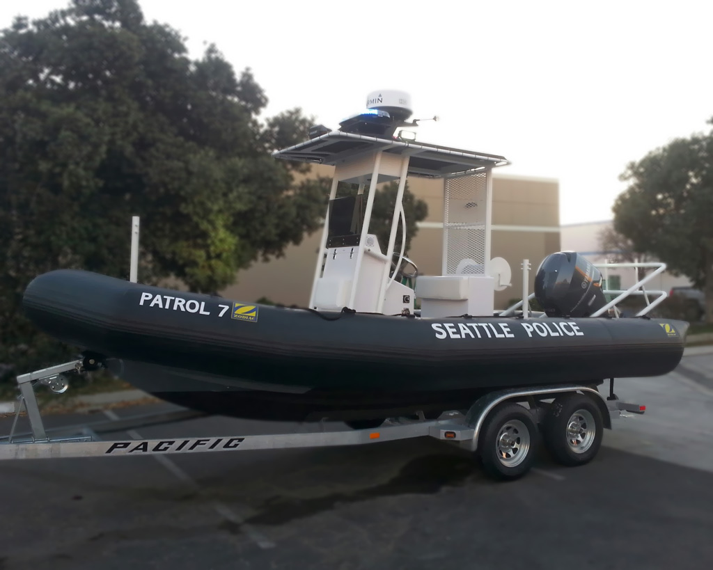Seattle PD Patrol Boat 2