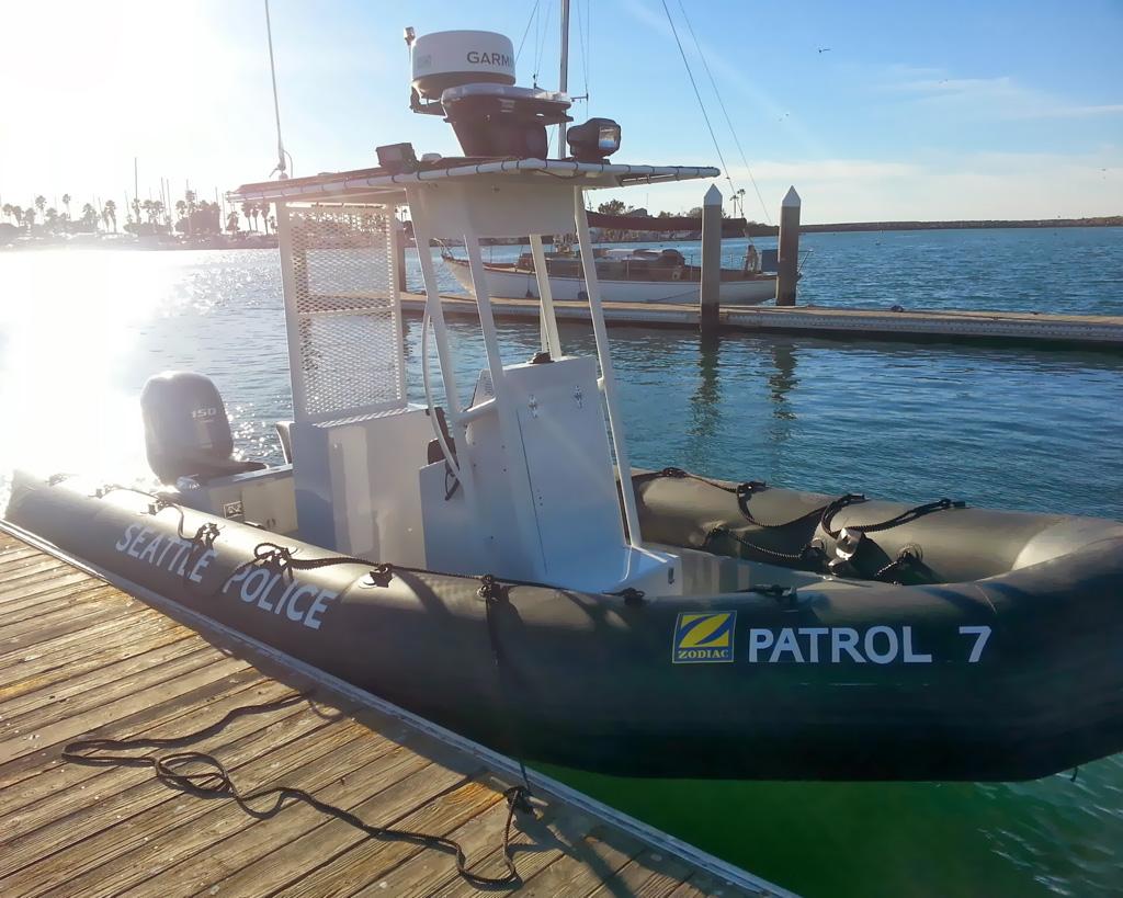 Seattle PD Patrol Boat