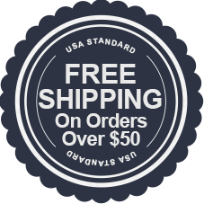 Fre Shipping on Orders over $50 shipping to the USA