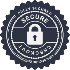 100% Fully secured checkout process