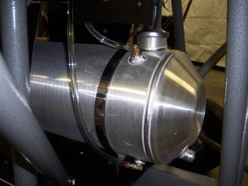 High Capacity Spun Aluminum Gas Tanks
