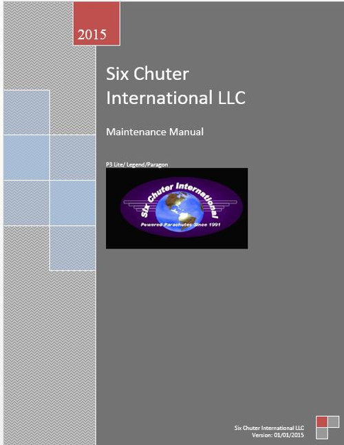 E-Six Chuter Maintenance Manual 2015 Downloadable