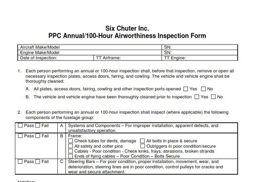 I-Annual Inspection of Condition (Download)