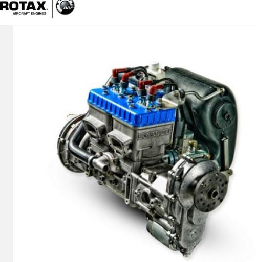 Rotax 582 E Gear Box (electric start)-DEPOSIT ONLY