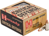 Hornady Critical Defense - 25 ACP 35 Grain FTX - 250 Rounds - Brass Case