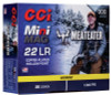 CCI Mini Mag Ammunition - 22 Long Rifle Meateater - 36 Grain Copper Plated Hollow Point - 900 Rounds