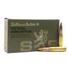 Sellier & Bellot Ammunition - 7.62x51mm NATO - 147 Grain Full Metal Jacket - 20 Rounds - Brass Case