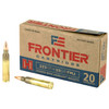 Frontier Ammunition - 223 Remington - 55 Grain Full Metal Jacket - 20 Rounds - Brass Case