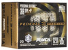 Federal Premium Ammunition - 38 Special - 120 Grain Punch Hollow Point - 20 Rounds - Nickel Plated Brass