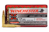 Winchester Super-X  Ammunition - 17 HMR - 20 Grain Jacketed Hollow Point - 100 Rounds W/ Free Ammo Can