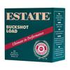 "Estate Buckshot Ammunition - 12 Gauge - 2 3/4"" - 00 Buckshot - 9 Pellets - 25 Rounds"