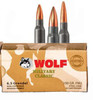 Wolf Performance Ammunition - 6.5 Grendel - 100 Grain Full Metal Jacket - 500 Rounds - Steel Case