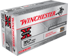 Winchester Super-X Ammunition 357 Magnum - 125 Grain Jacketed Hollow Point - 500 Rounds - CASE