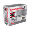 Winchester Super-X Ammunition 45 Auto - 185 Grain Silvertip Hollow Point - 200 Rounds - CASE