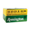 "Remington Express Ammunition 12 Gauge  - 2 3/4"" - 00 Buckshot 8 Pellets  - 250 Rounds - CASE"