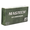 Magtech 6.5 Creedmoor - 140 Grain - Full Metal Jacket - 500 Rounds - Brass Case