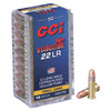 CCI Velocitor Rimfire Ammunition - 22 Long Rifle - 40 Grain Copper Plated Hollow Point - 500 Rounds W/ Ammo Can
