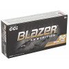 CCI Blazer Ammunition - 380 Auto - 95 Grain Full Metal Jacket - 250 Rounds W/ Free Ammo Can