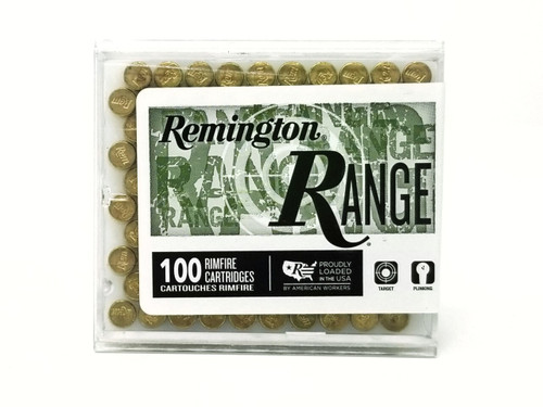 Remington Ammunition - 22 LR - 40 Grain Lead Round Nose - 500 Rounds W/ Free Ammo Can