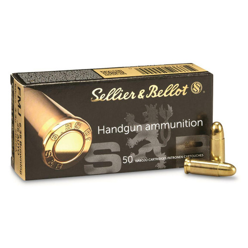 Sellier & Bellot Ammunition - 25 Auto - 50 Grain Full Metal Jacket - 100 Rounds W/ Free Ammo Can