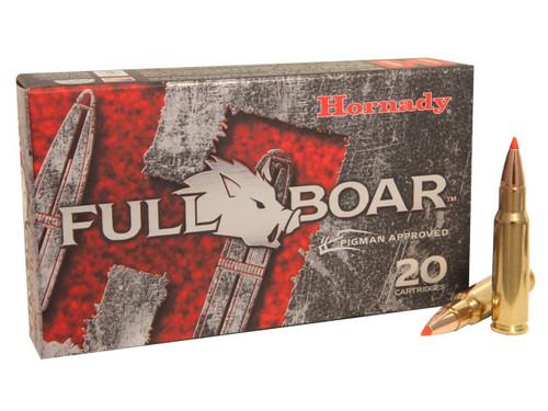Hornady Full Boar Ammunition - 6.8 Remington SPC - 100 Grain GMX Lead Free - 40 Rounds  W/ Free Ammo Can