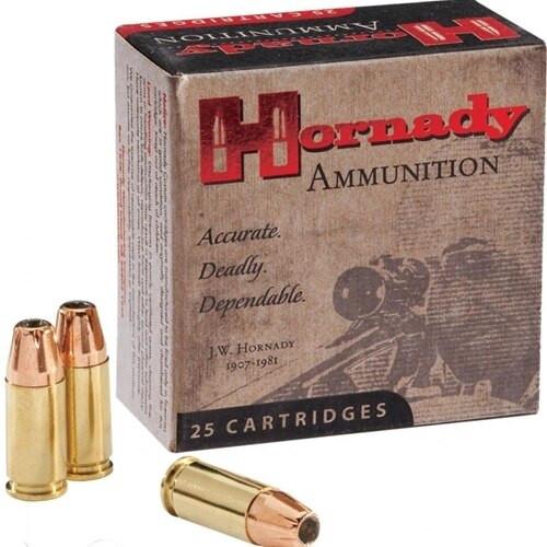 Hornady Custom Ammunition - 25 ACP - 35 Grain XTP - 50 Rounds W/ Free Ammo Can