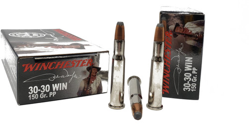 """Winchester """"John Wayne Collection"""" Ammunition - 30-30 Winchester - 150 Grain Power Point - 20 Rounds W/ Free Ammo Can"""
