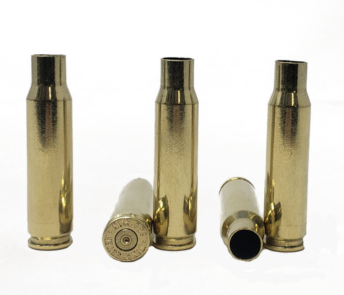 Mixed .308 Win/ 7.62x51 Brass - Cleaned & Polished/ Some Primers Removed - 250 Pieces
