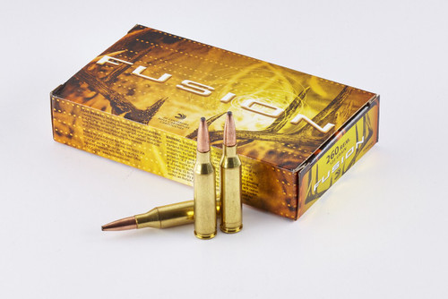Federal Fusion Ammunition - 260 Remington - 120 Grain Soft Point - 80 Rounds W/ Free Ammo Can