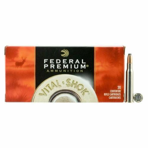 Federal Premium Ammunition - 7-30 Waters - 120 Grain - Sierra Gameking BTSP-FN - 100 Rounds W/ Free Ammo Can