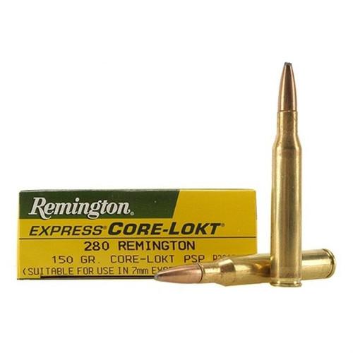 Remington Core-Lokt Ammunition - 280 Remington - 150 Grain Soft Point - 80 Rounds W/ Free Ammo Can