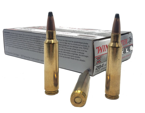 Winchester Super-X Ammunition - 284 Winchester - 150 Grain Power-Point - 40 Rounds W/ Free Ammo Can